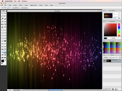 Line Art Software Free Download : Sumopaint online image editor